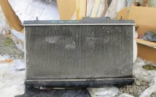 Как поменять радиатор на ваз 2109