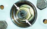 Замена ступицы ваз 2107
