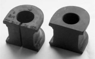 Как поменять резинки стабилизатора