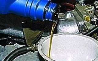 Какое масло заливать в двигатель ваз 2114