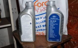 Замена масла в коробке форд фокус 3