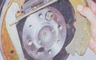 Ваз 2105 замена тормозных колодок