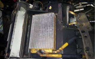 Как поменять радиатор печки на нексии
