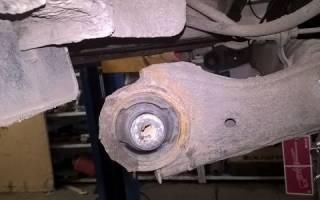 Замена задних сайлентблоков киа рио 3