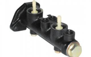 Ваз 2107 замена главного тормозного цилиндра