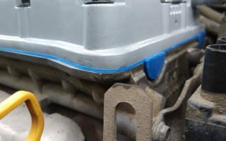 Как заменить прокладку клапанной крышки