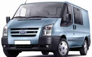 Форд транзит замена топливного фильтра