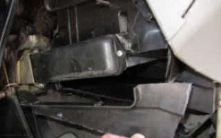 Лада гранта замена радиатора печки