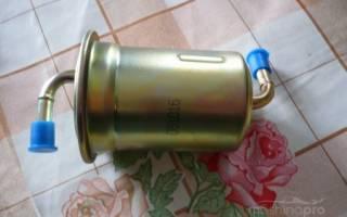 Мазда 6 замена топливного фильтра