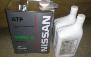 Замена масла в акпп ниссан патфайндер