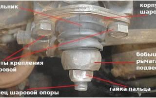 Замена шаровой опоры на ваз 2109