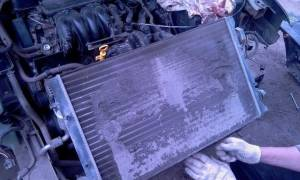 Замена радиатора шкода октавия тур