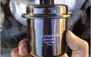 Хонда срв замена топливного фильтра
