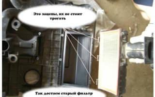 Шкода фабия замена воздушного фильтра