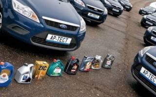 Замена масла форд фокус 2