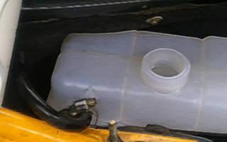 Объем охлаждающей жидкости ваз 2110